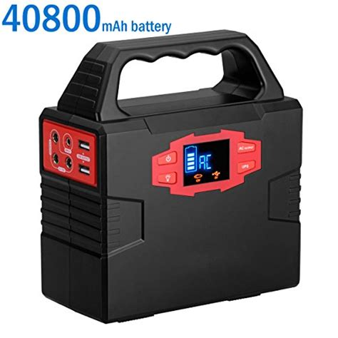battery powered outlet for hiking and cing stuff portable solar battery