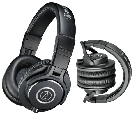 Headphone Audio Technica M40x audio technica monitoring headphones ath m40x beggs
