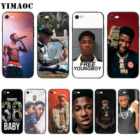 youngboy never broke again phone case yimaoc youngboy never broke again soft silicone case for