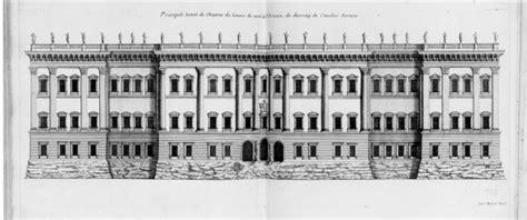bernini s design for the louvre paris floor plans act image popup