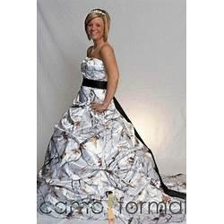 Winter Camo Wedding Dresses | Dream Wedding IdeaS Around The World