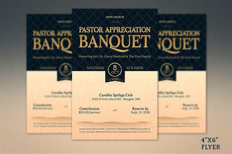 Pastor Appreciation Banquet Template Ki Design Bundles Banquet Flyer Template
