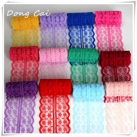 sewing knit fabric dongcai lace trim ribbon 10 yards lot 45mm apparel sewing