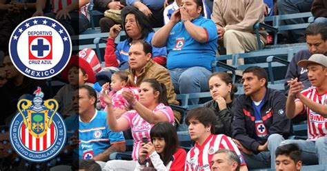 cruz azul vs chivas tc 2016