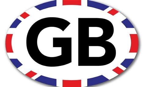 Do I Need A Gb Sticker In Ireland