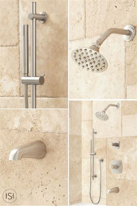 High Flow Shower by Lindstrom High Flow Shower System With Shower And Tub