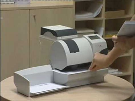 At Home Small Equipment Franking Machines For Small Businesses Matrix F2 Wmv