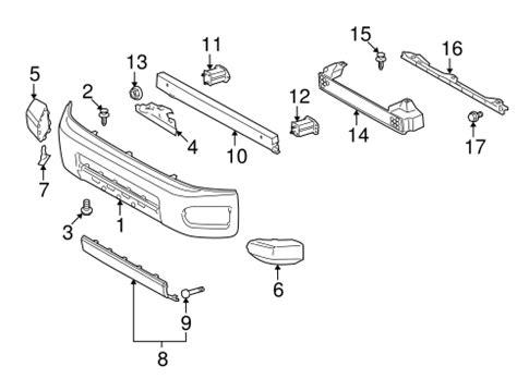 Toyota Fj Parts Genuine Oem Bumper Components Front Parts For 2008