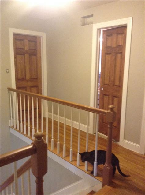 painting stained wood trim 17 best images about white trim with wood doors on