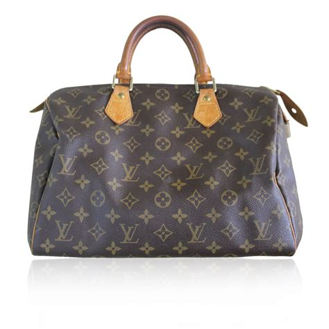 Are Louis Vuitton Bags Handmade - authentic louis vuitton monogram speedy 30 handbag purse