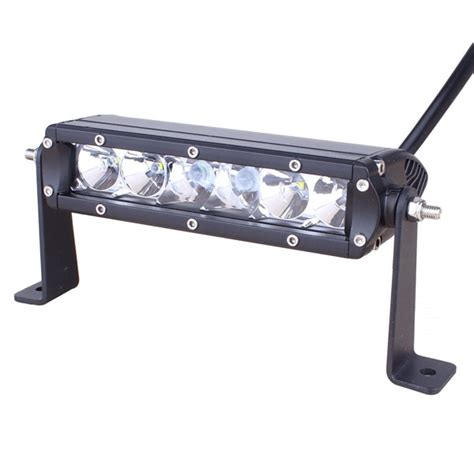 Slimline Single Row Led Light Bar 9 Inch 30 Watt Combo 9 Led Light Bar