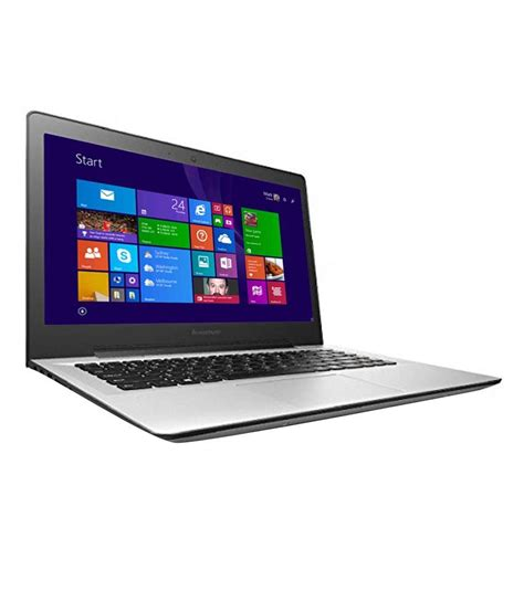 Laptop Lenovo I3 Win 8 lenovo u41 70 laptop 80jv007din 5th intel i3 4gb ram 1tb hdd 35 56 cm 14
