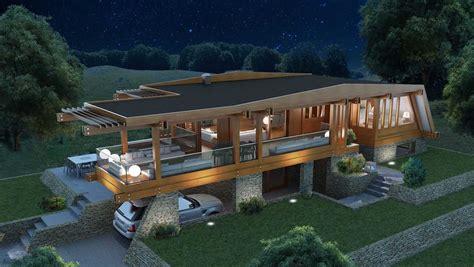 casa legno giardino collezione in legno progetti pagano