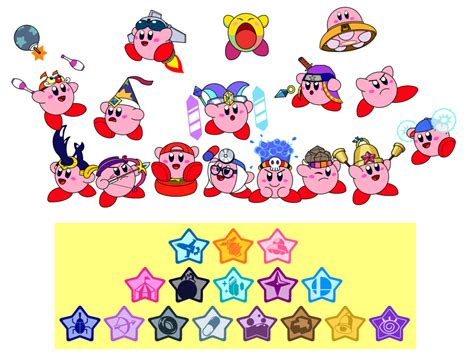 powers by kirby kirby s abilities 4 by darkdiddykong on deviantart