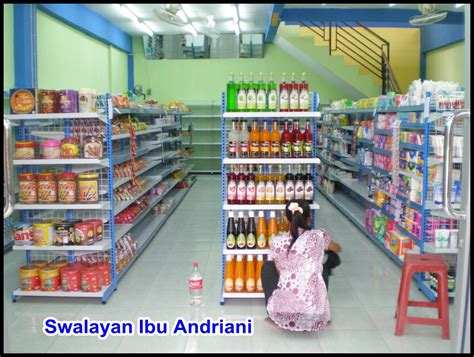 layout indomaret rak gondola clopen rack