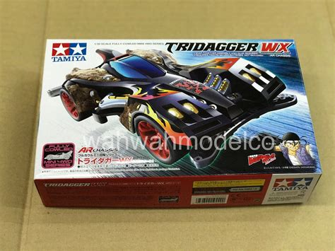 tamiya 19449 1 32 tridagger wx ar chassis mini 4wd chassis model kit