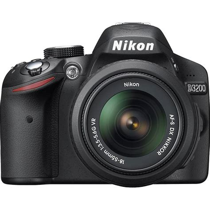 Nikon D3200 Vr Nikon D3200 Dslr With 1855mm Vr Lens Black D3200 Black Kit Best Buy