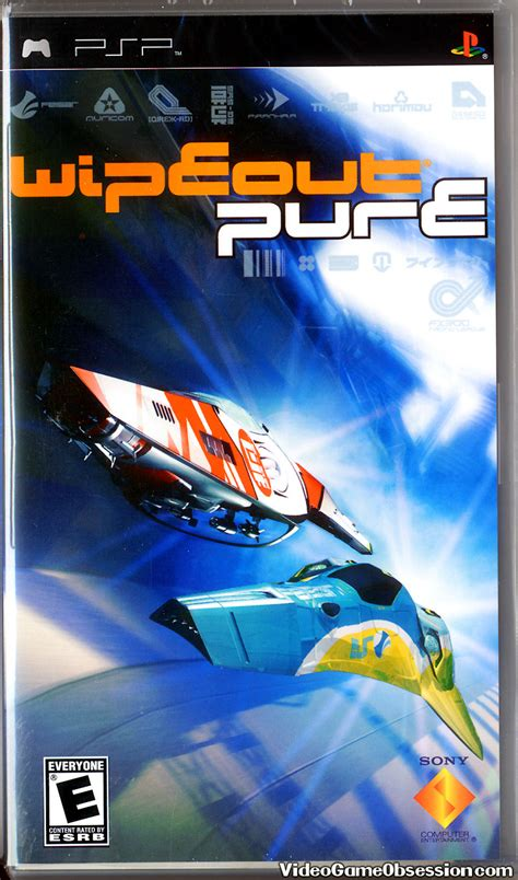 Psp Umd Wipeout sony playstation portable psp obsession 1996 present