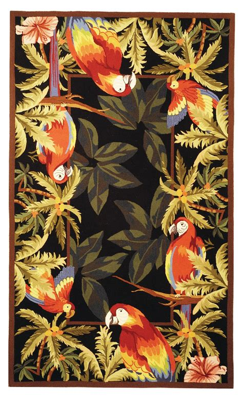 tropical print rugs tropical rugs gonsenhauser s rug carpet superstore