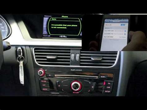 Audi Concert Radio by Audi Scottsdale Pairing Your Iphone With Bluetooth