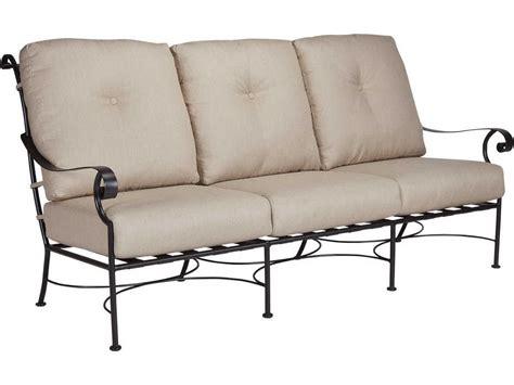 iron sofa ow lee st charles wrought iron sofa 26125 3s