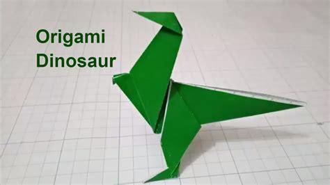 Origami Dinosaur Easy - origami dinosaur easy crafts 3d paper dinosaur for kid