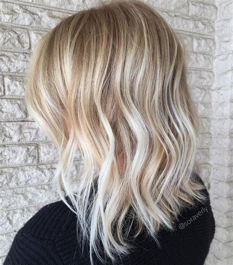 mid length layered ends back choppy layered haircuts for thin hair hair
