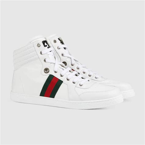 gucci high top sneakers for leather high top sneaker gucci s sneakers