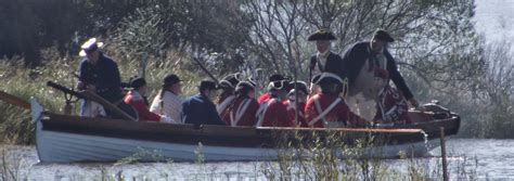 boat landing gloucester his majesty s marines british marines the return to the
