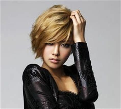 asimetric haircuts korean 1000 images about hair color blonde warm on pinterest
