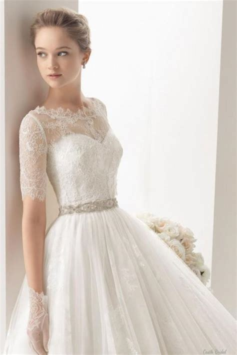 lace appliques beading belt wedding dress 2002417 weddbook