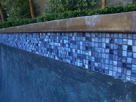 clean glass pool tile after by pool tile cleaning orange county 714 227 3629