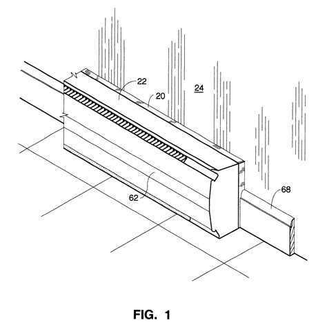 baseboard dimensions patent us6422477 heat recovery reflector for baseboard