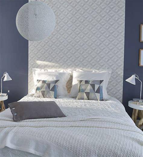 tendance papier peint chambre diy tete de lit chambre e interiorconcept
