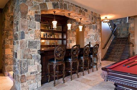 gemstone home decor 27 basement bars that bring home the good times