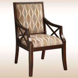 Wooden Accent Chair Furniture Brown Wooden Accent Chairs With Arms Brown Floral Pattern Back And Seat