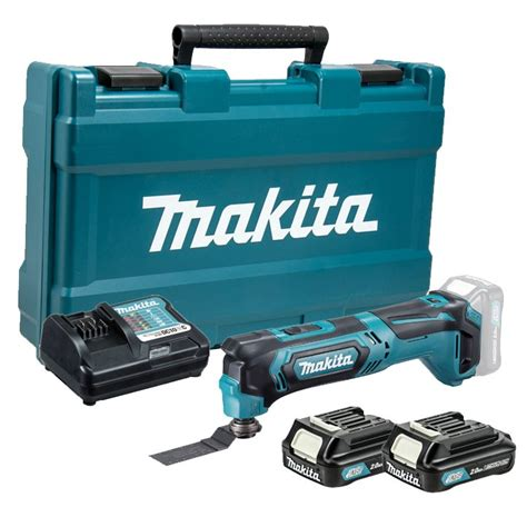 Multi Cutter Makita makita tm30dwae 10 8v cxt slide multi cutter tool inc 2x 2 0ah batteries charger and carry