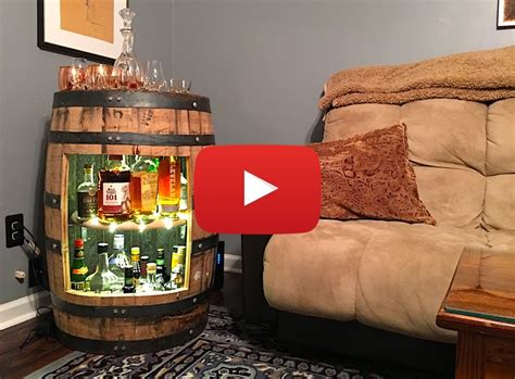 how to build a liquor cabinet build a whiskey or wine barrel liquor cabinet