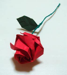 Rosa De Origami - como hacer una rosa de papel origami imagui