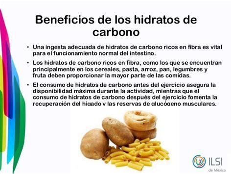 alimentos con hidratos de carbono hidratos de carbono
