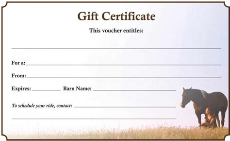 Form Gift Certificate Template   Certificate234