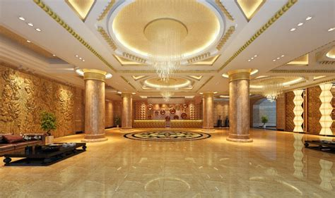 Home Design Deluxe 3d Download by 3d Rendering Luxury Hotel Lobby China