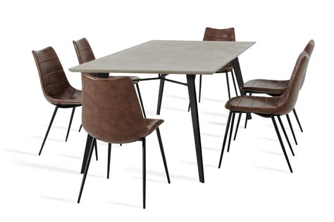 modrest claw modern concrete dining table modern dining