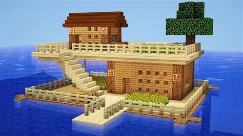 minecraft house building minecraft how to build a survival house on water house