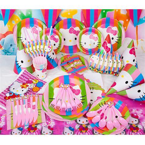 cartoon themes party kids birthday party supplies set decotations cartoon theme