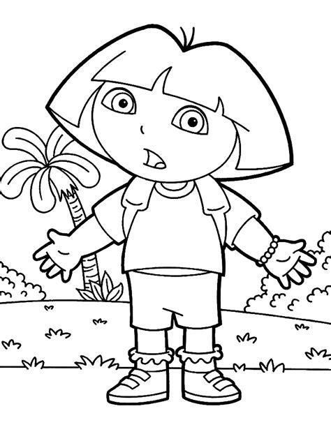 dibujos para colorear de dora la exploradora dibujos para colorear de dora la exploradora ideas amp
