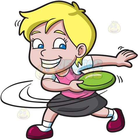 frisbee clipart flying frisbee clipart free images at clker vector
