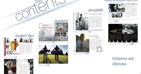 design elements yearbook like the spread on contents idea yearbook ideas