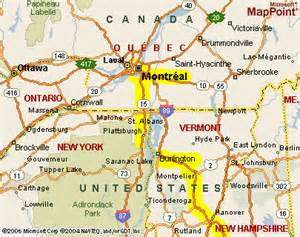 map of vermont and canada the gallery for gt out in bed gif