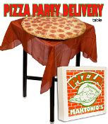 table pizza delivery pizza delivery table